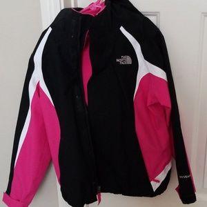 2 in 1 Northface jacket